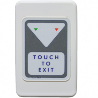 Exit device with Touch to Exit panel